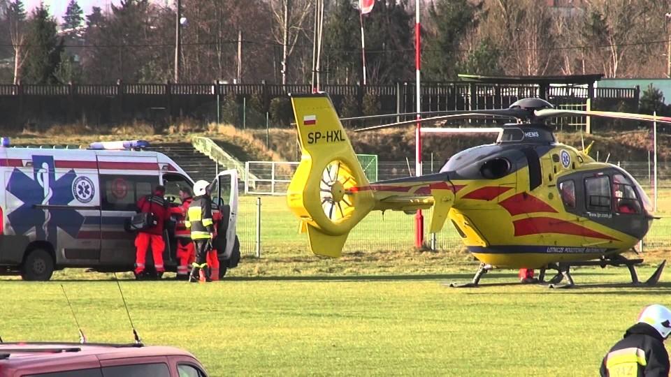 Akcja Lotniczego Pogotowia Ratunkowego – 17 grudnia 2014