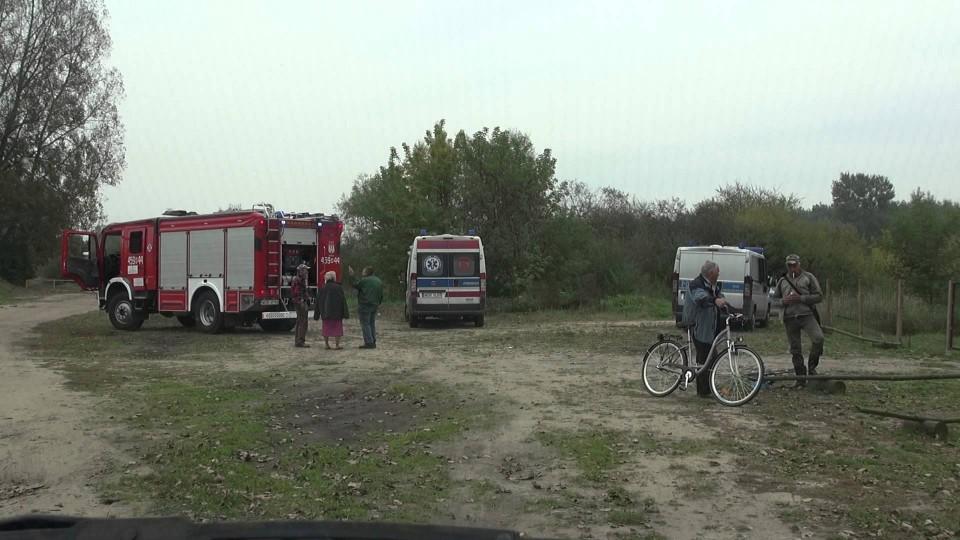 Akcja straży pożarnej nad Pilicą – 29 września 2014