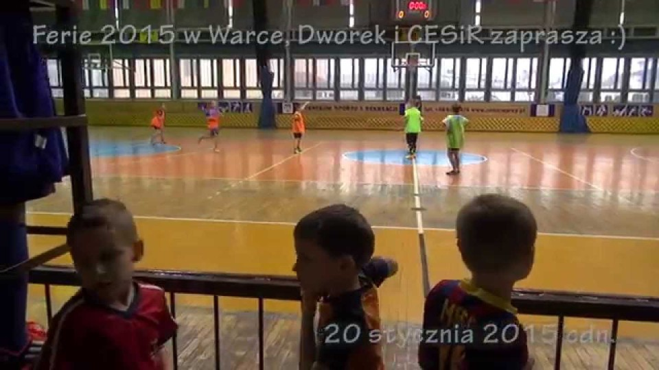 Ferie w Warce cz.I, Centrum Sportu i Dworek Zapraszają – 20 stycznia 2015