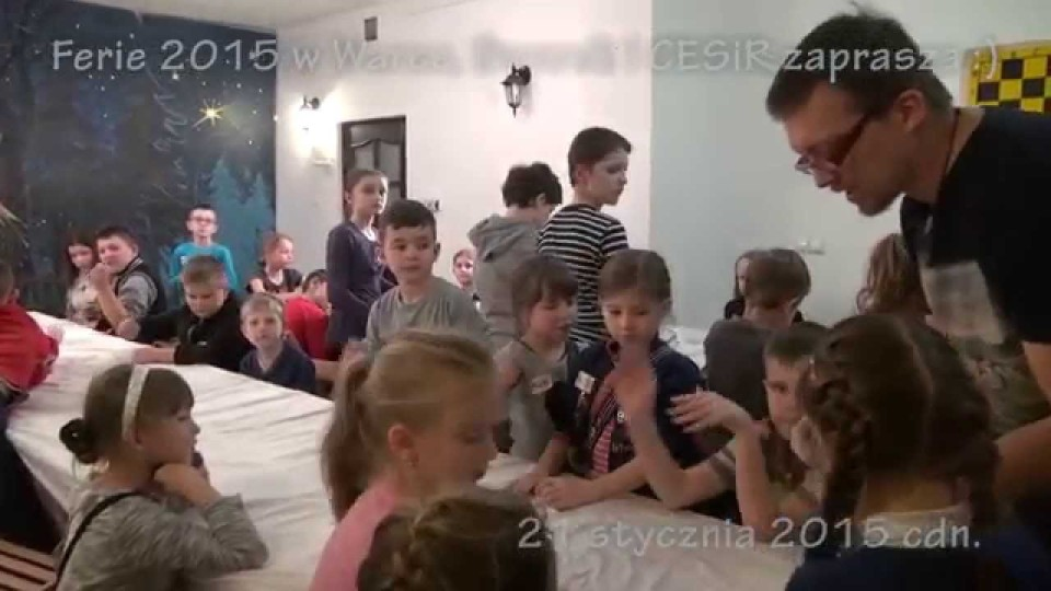 Ferie w Warce cz. II , zajęcia z ceramiki – 21 stycznia 2015