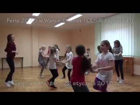 Ferie w Warce cz.III, zajęcia taneczne – 22 stycznia 2015