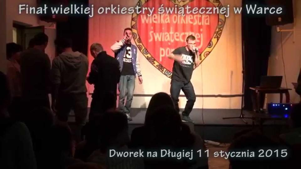 Finał Wielkiej Orkiestry Świątecznej w Warce – 11 stycznia 2015