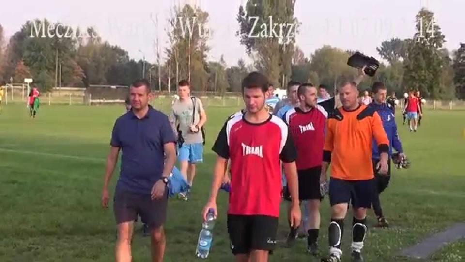 Końcówka meczu KS Warka – Wulkan Zakrzew – 7 września 2014