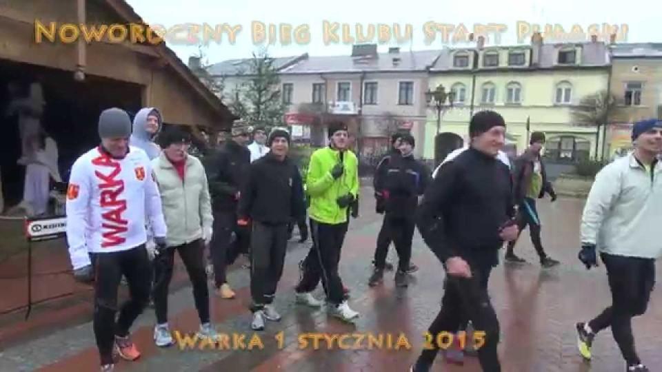 Noworoczny Bieg i Morsowanie Klubu Start Pułaski Warka – 1 stycznia 2015