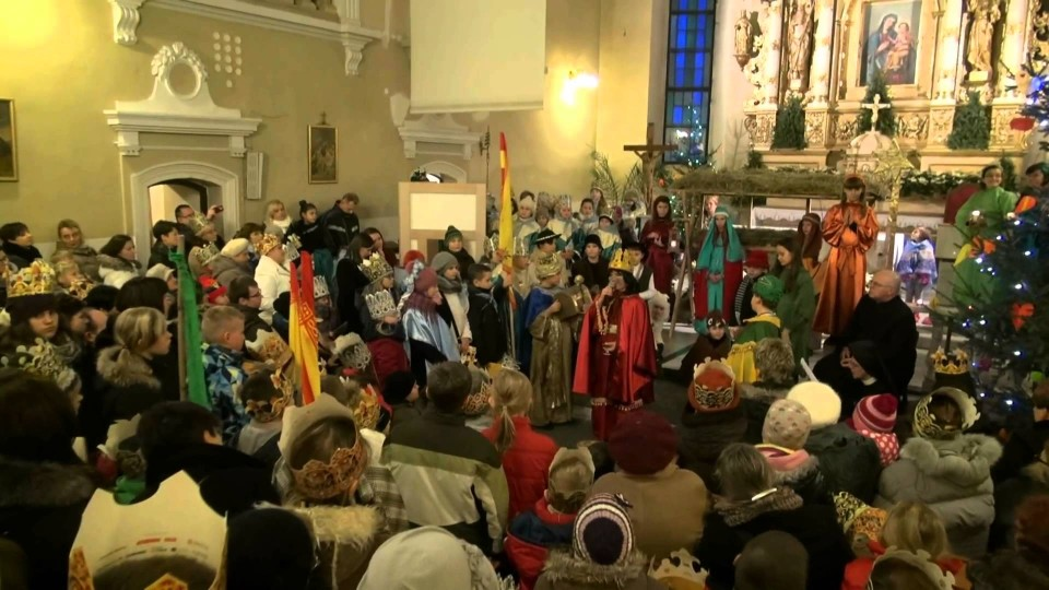 Orszak 3 Króli i Jasełka w Warce – 6 stycznia 2014