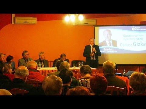 Program Burmistrza Warki na lata 2015-2018 – 14 listopada 2014