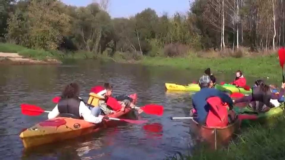 Rodzinny spływ kajakowy Radomką – 4 października 2014