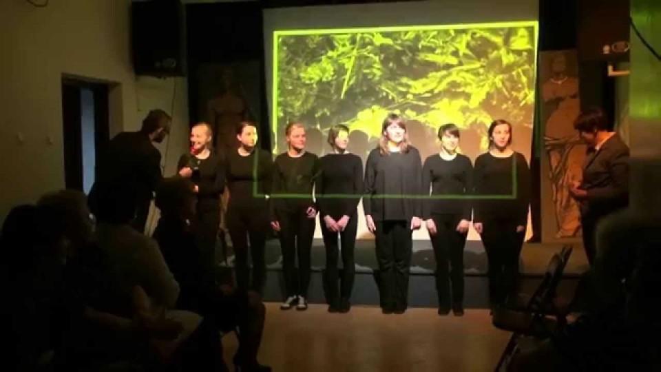 """Spektakl """"Persefona"""" w Dworku na Długiej – 12 kwietnia 2014"""