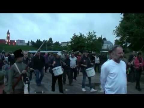 Inscenizacja rozstrzelania Powstańców Styczniowych w 150. rocznicę – 4 czerwca 2013