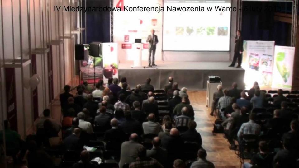 IV Międzynarodowa Konferencja Nawożenia w Warce – 6 lutego 2013