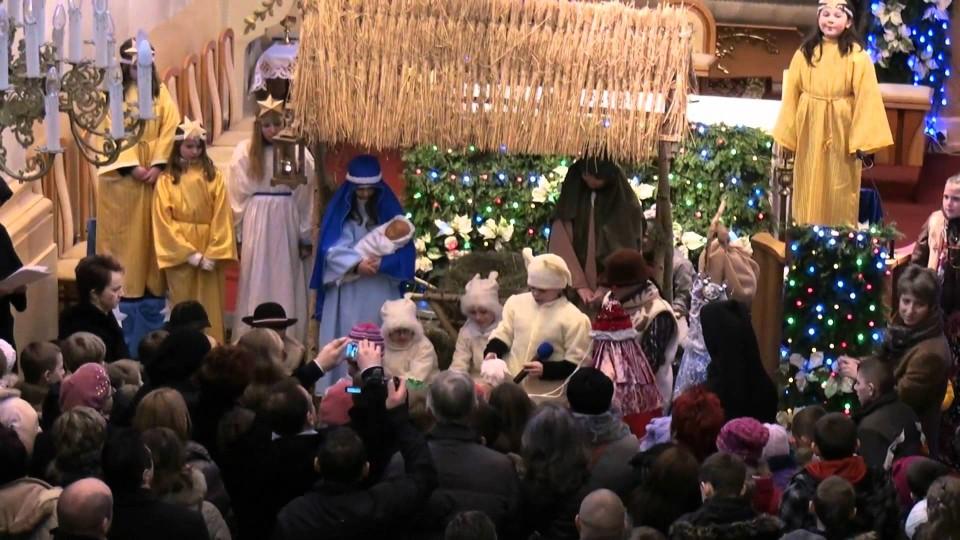 """Jasełka """"Kromka chleba"""" w Parafii Matki Bożej Szkaplerznej w Warce – 8 stycznia 2012"""