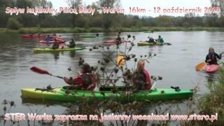 Jesienny spływ Pilicą – 12 października 2013