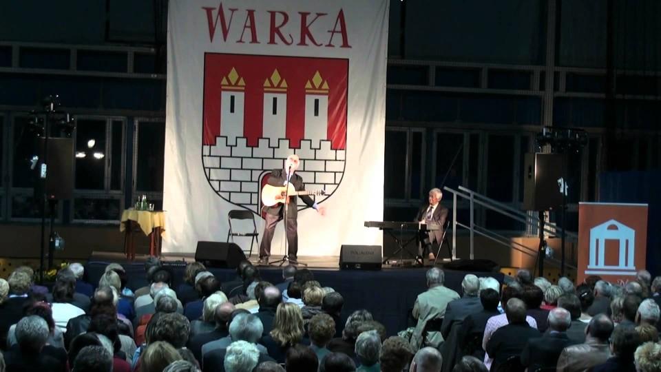 Koncert Jana Pietrzaka w Warce – 22 września 2013