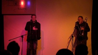 """Warecki Klub Jazzowy – """"Jorgos Skolias & Bronek Duży"""" – 7 marca 2013"""