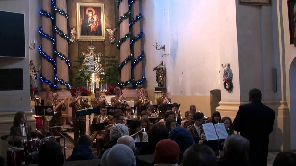 Koncert Kolęd z Orkiestrą Moderato w kościele M.B. Szkaplerznej w Warce – 27 stycznia 2013