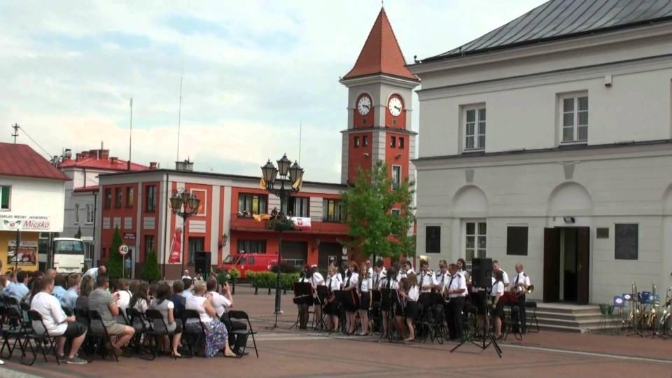 Orkiestrowa Niedziela – koncert orkiestry dętej z Błędowa na wareckim rynku – 10 czerwca 2012