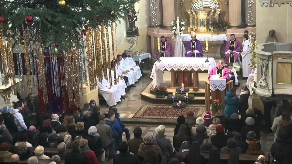 Msza Święta Prymicyjna Biskupa Ks.Rafała Markowskiego w Warce – 22 grudnia 2013