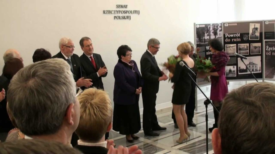 Otwarcie wystawy o Warce w Gmachu Senatu RP w Warszawie – 15 lutego 2012