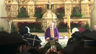 Pogrzeb Prezesa OSP w Warce Druha Bogusława Podlaska – 29 grudnia 2012