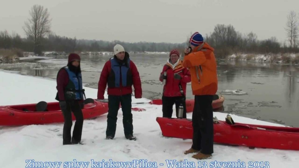 Poland Today na Zimowym Spływie Pilicą pod Warką – 13 stycznia 2013