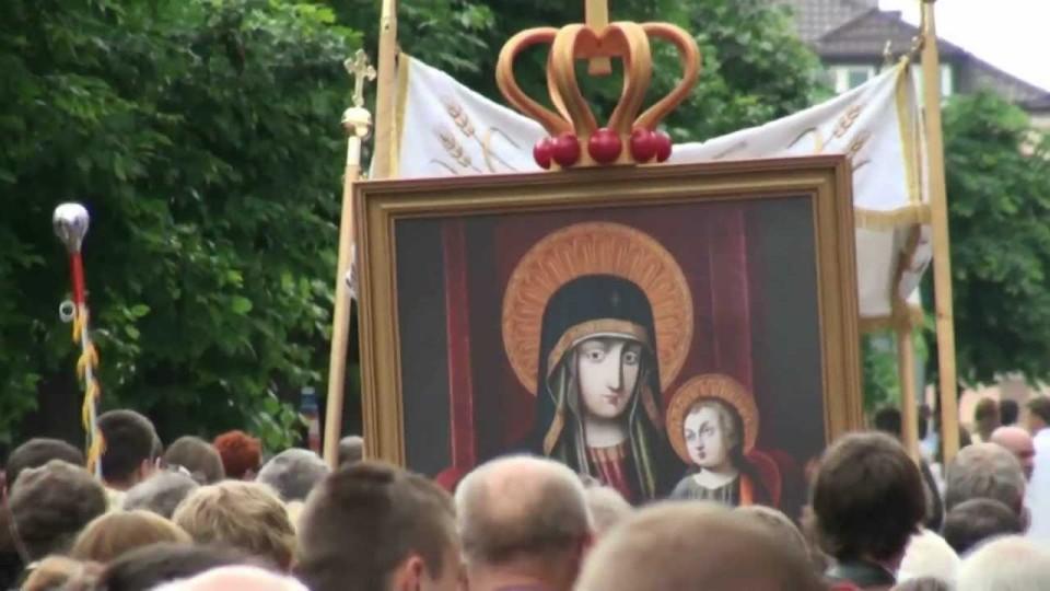 Procesja Bożego Ciała ulicami Warki – 7 czerwca 2012
