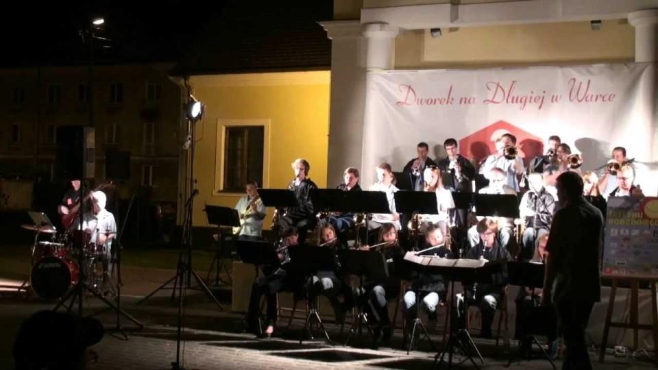 Przebojowy Koncert Miejskiej Orkiestry Moderato w Warce – 19 września 2013