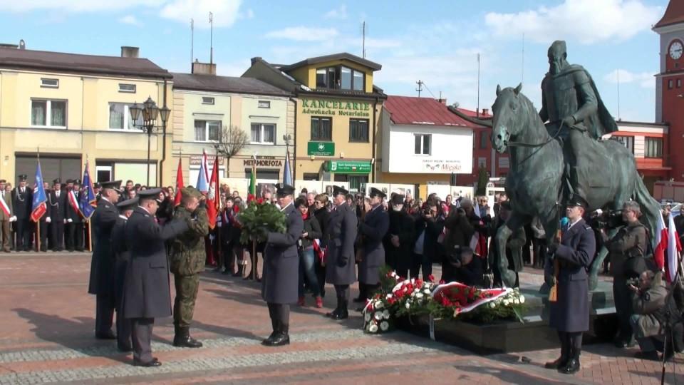 Uroczyste odsłonięcie pomnika Hetmana Stefana Czarnieckiego na Wareckim Rynku – 7 kwietnia 2013