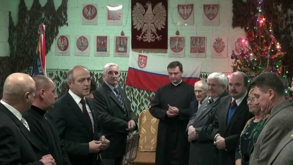 Wigilia Klubu Żołnierzy Rezerwy w Warce – 14 grudnia 2013