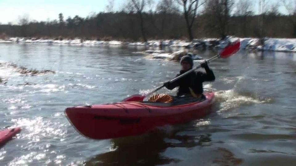 Zimowy spływ kajakowy Radomką i Wisłą – 17 marca 2013