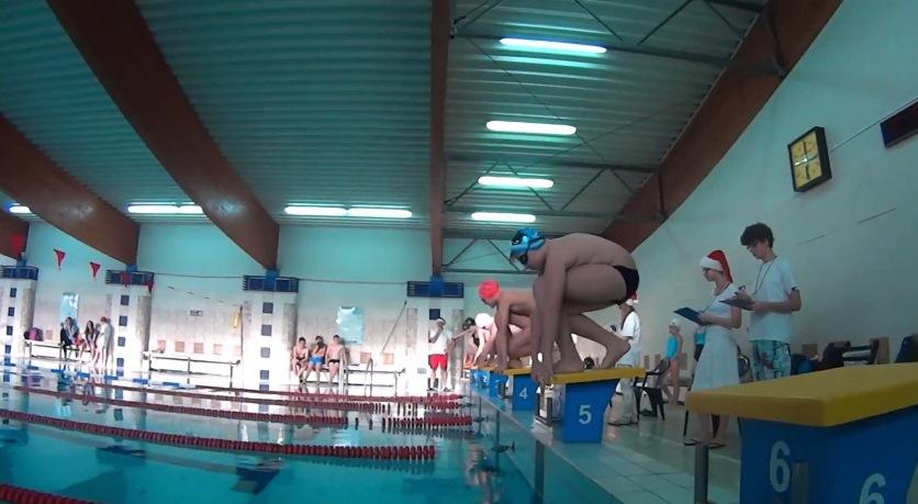 Mikołajkowe Zawody Pływackie – 9 grudnia 2014