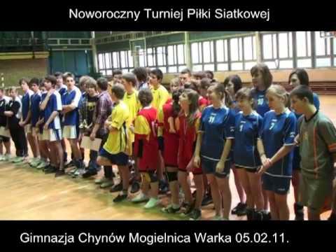 Gimnazjalne Zawody Piłki Siatkowej – CeSiR Warka – 5 lutego 2011