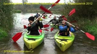 Habaziowy spływ kajakowy jesienną Pilicą – 13 października 2012