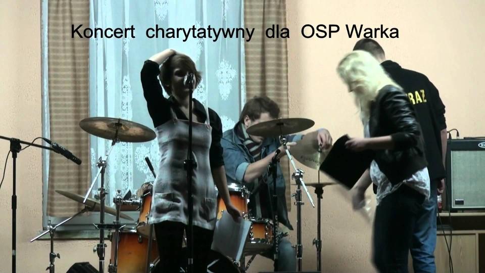Koncert charytatywny w OSP w Warce – 15 października 2011