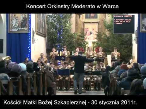 Koncert kolędowy orkiestry Moderato w kościele MB Szkaplerznej – 30 stycznia 2011