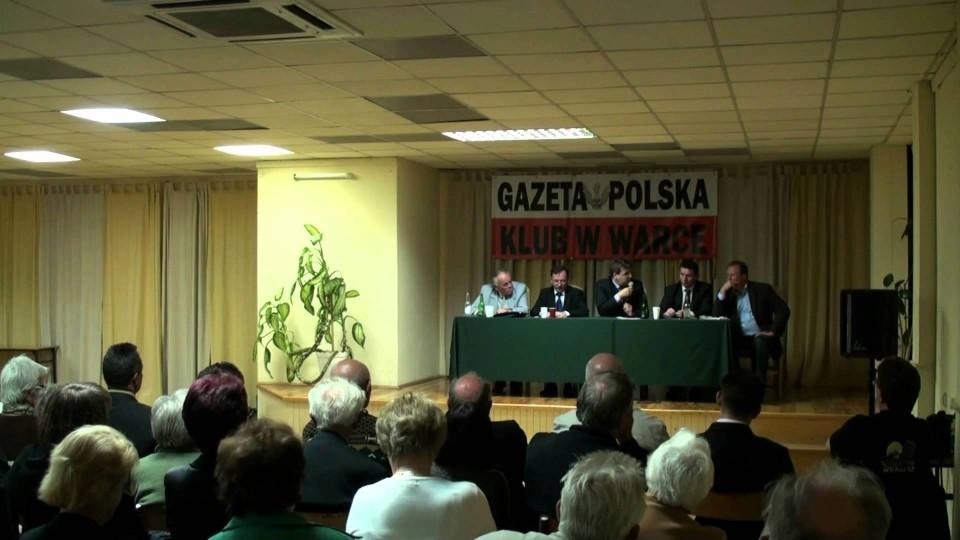 """Spotkanie z Mariuszem Kamiński – Klub Patriotyczny """"Gazety Polskiej"""" – 24 września 2011"""