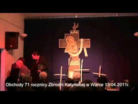 Uroczystość 71. rocznicy Zbrodni Katyńskiej – 13 kwietnia 2011
