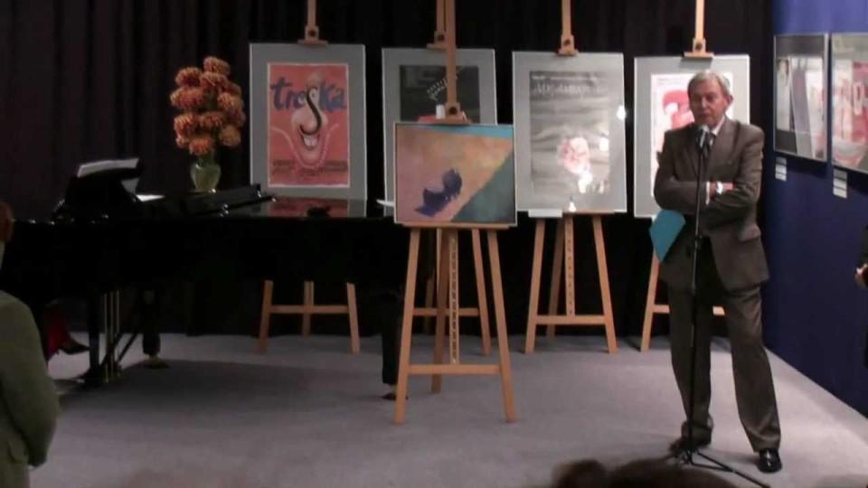 Polonijna wystawa plakatów Ryszarda Drucha – 11 października 2011