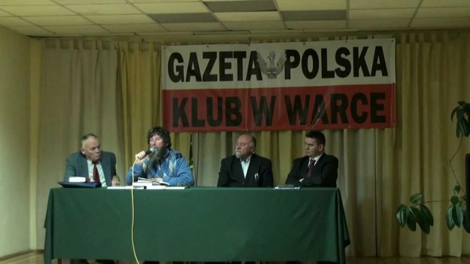 """Spotkanie z Witoldem Rakiem działaczem NSZZ """"S"""" – Klub Patriotyczny """"Gazety Polskiej"""" – 2 grudnia 2011"""
