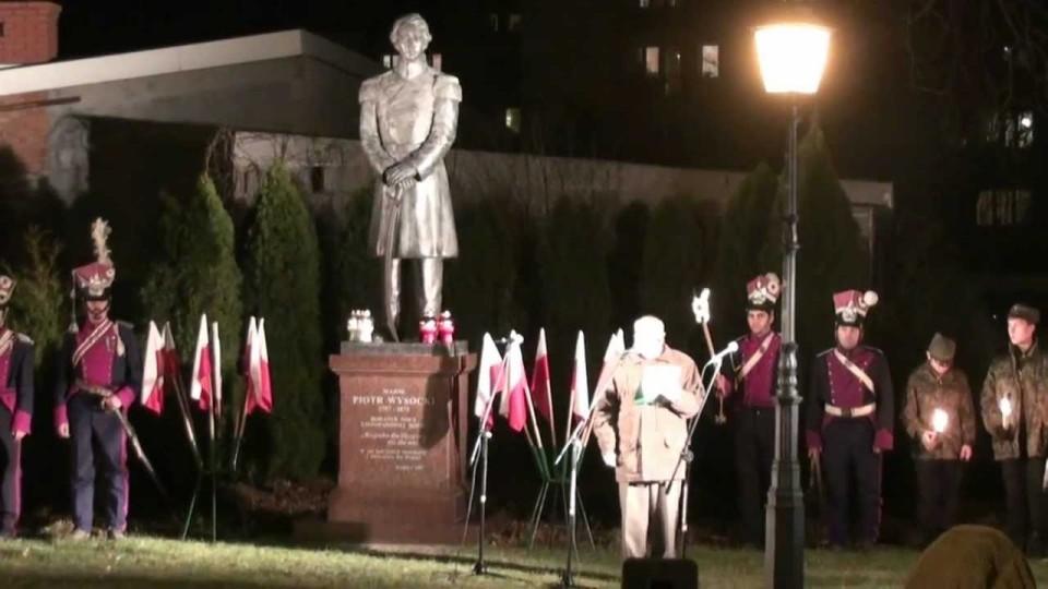Uroczystość 181. rocznicy wybuchu Powstania Listopadowego – 29 listopada 2011