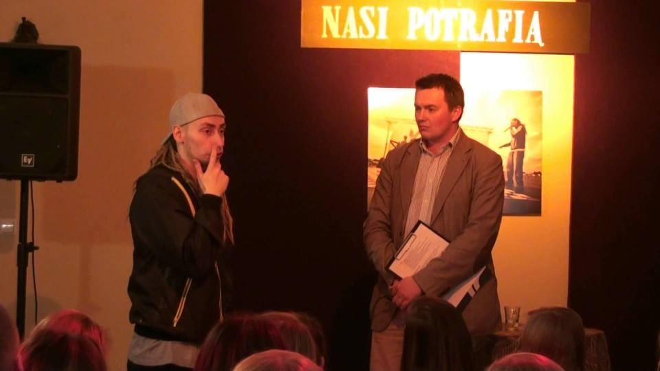 Występ Bladego Krisa w Dworku na Długiej – 7 grudnia 2012