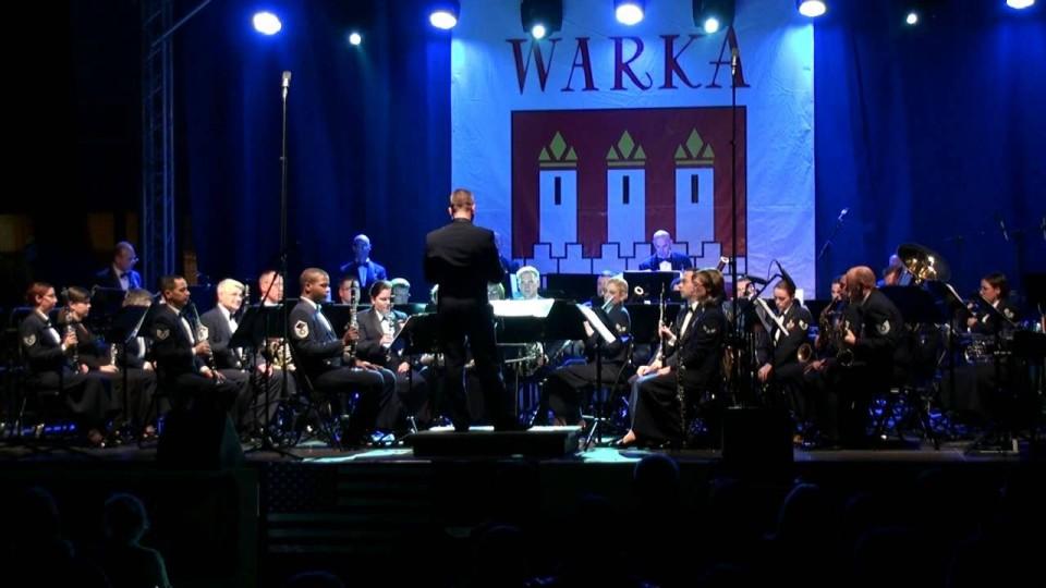 Występ Orkiestry Amerykańskich Sił Powietrznych w Europie – 6 listopada 2012