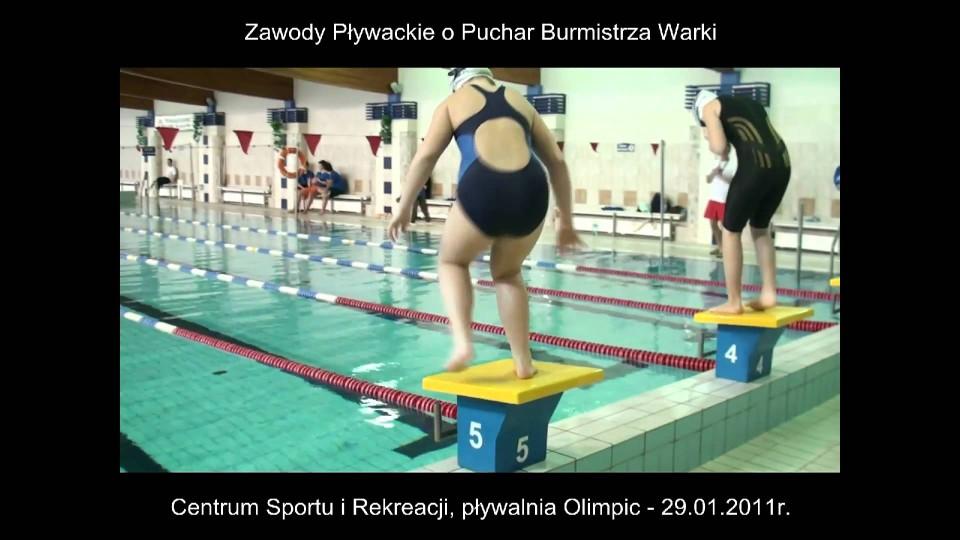 Zawody pływackie w CESiR o Puchar Burmistrza – 29 stycznia 2011