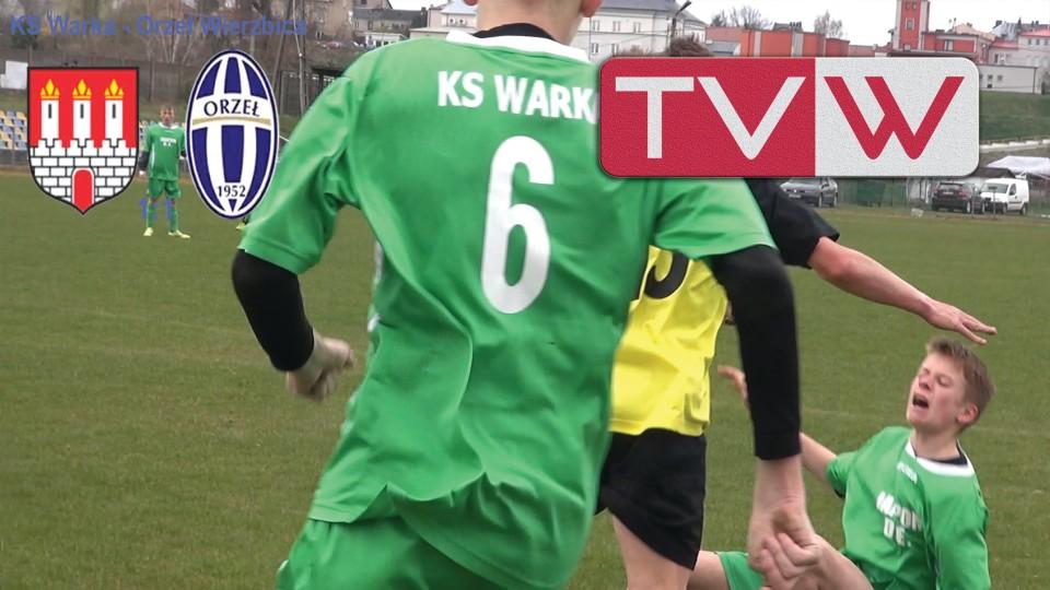 Mecz piłki nożnej KS Warka vs Orzeł Wierzbica – 18 kwietnia 2015