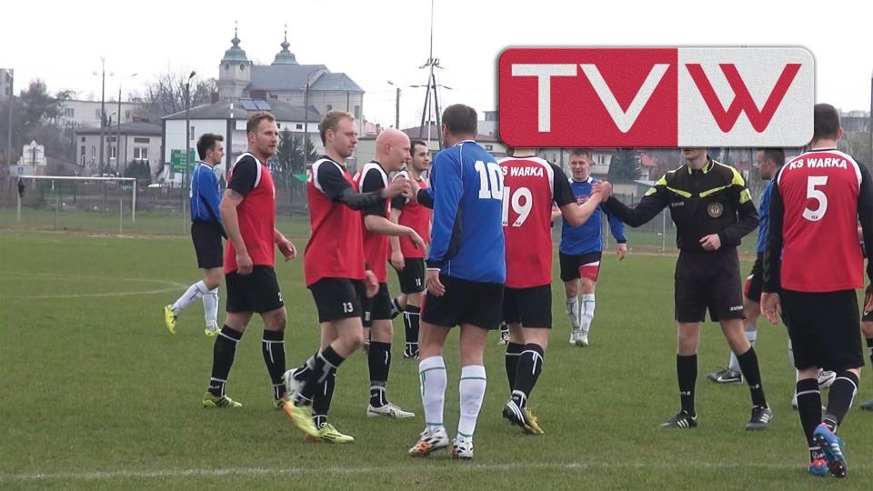 Mecz piłki nożnej Warka vs Powiślanka Lipsko – 19 kwietnia 2015