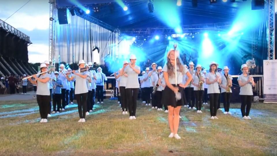 Nocny Koncert Moderato na 43. Ogólnopolskim Festiwalu Młodzieżowych Orkiestr Dętych w Inowrocławiu – 20 czerwca 2015