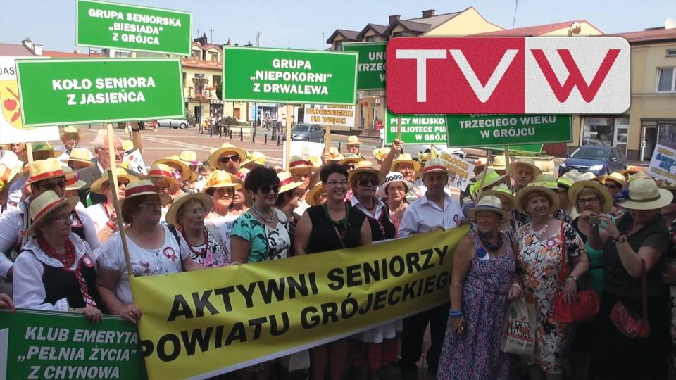 Aktywni Seniorzy Powiatu Grójeckiego w Warce – 19 lipca 2015