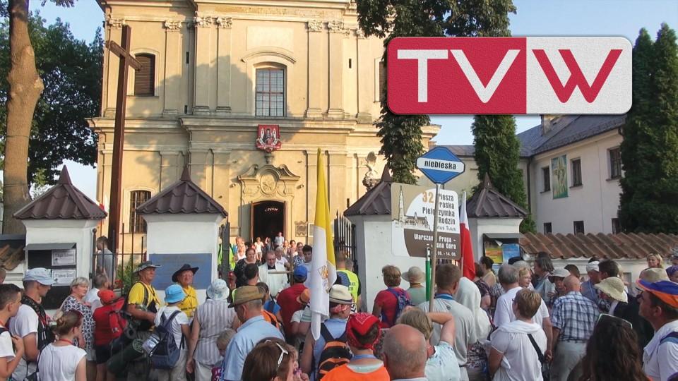 Pielgrzymi na Jasną Górę Przybywają do Warki – 6 sierpnia 2015