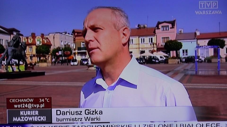 Warka w Kurierze Mazowieckim TVP Warszawa – 12 sierpnia 2015