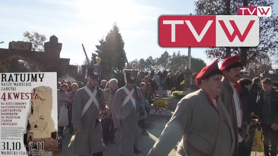 Kwesta i Msza Święta na Starym Cmentarzu w Warce – 1 listopada 2015