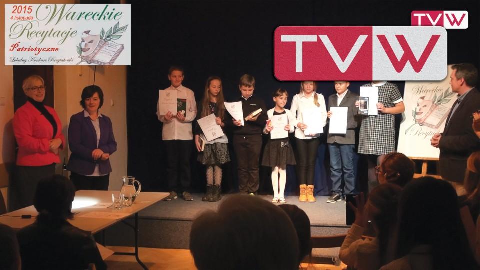VII Wareckie Recytacje – Konkurs o tematyce patriotycznej – 4 listopada 2015
